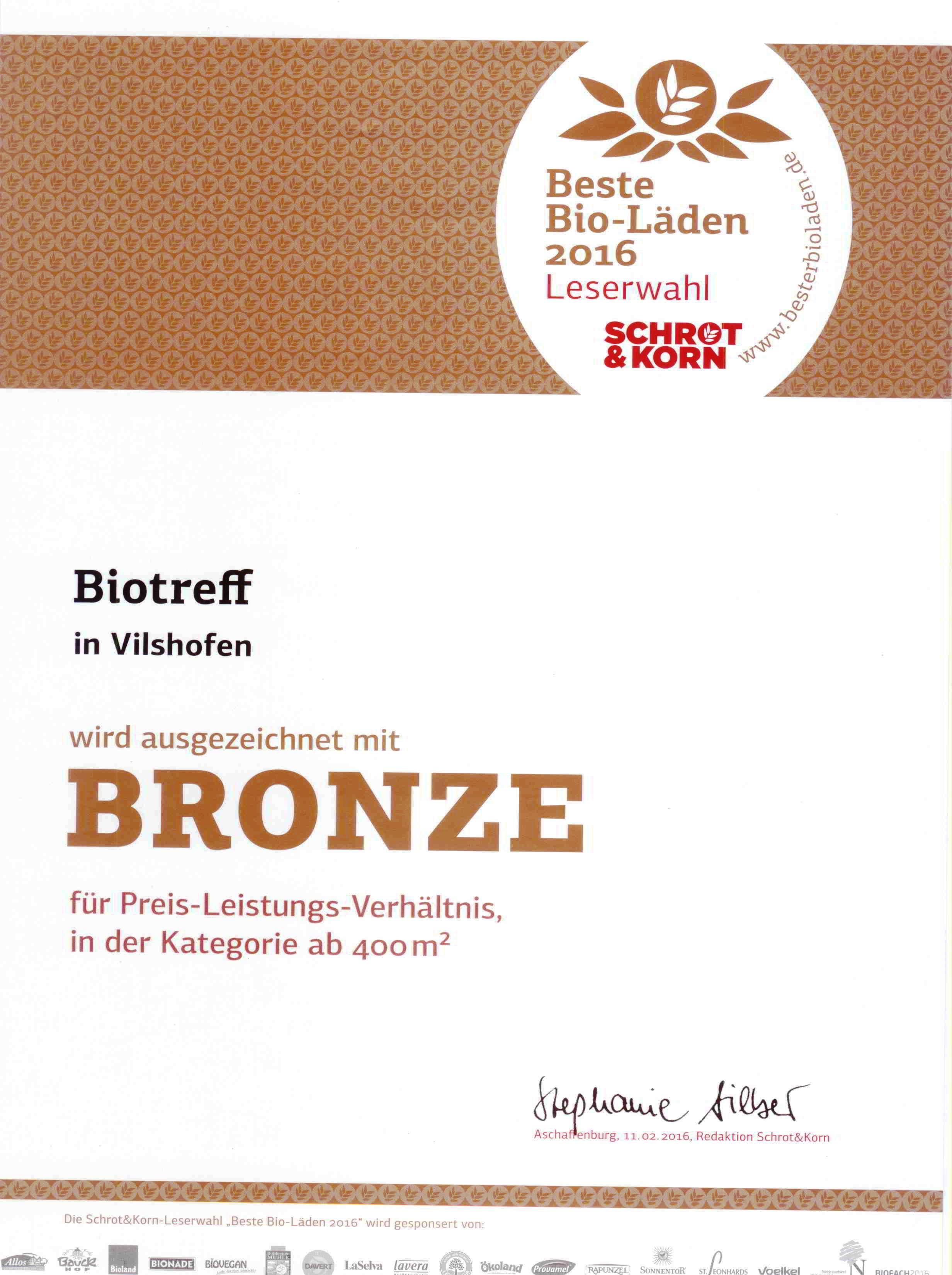 Schrot&Korn-Auszeichnung BRONZE 2016 001