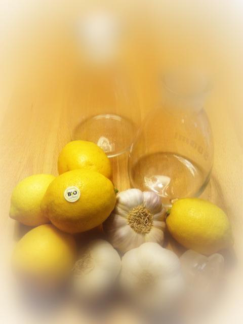 Knoblauch-Zitronen-Kur