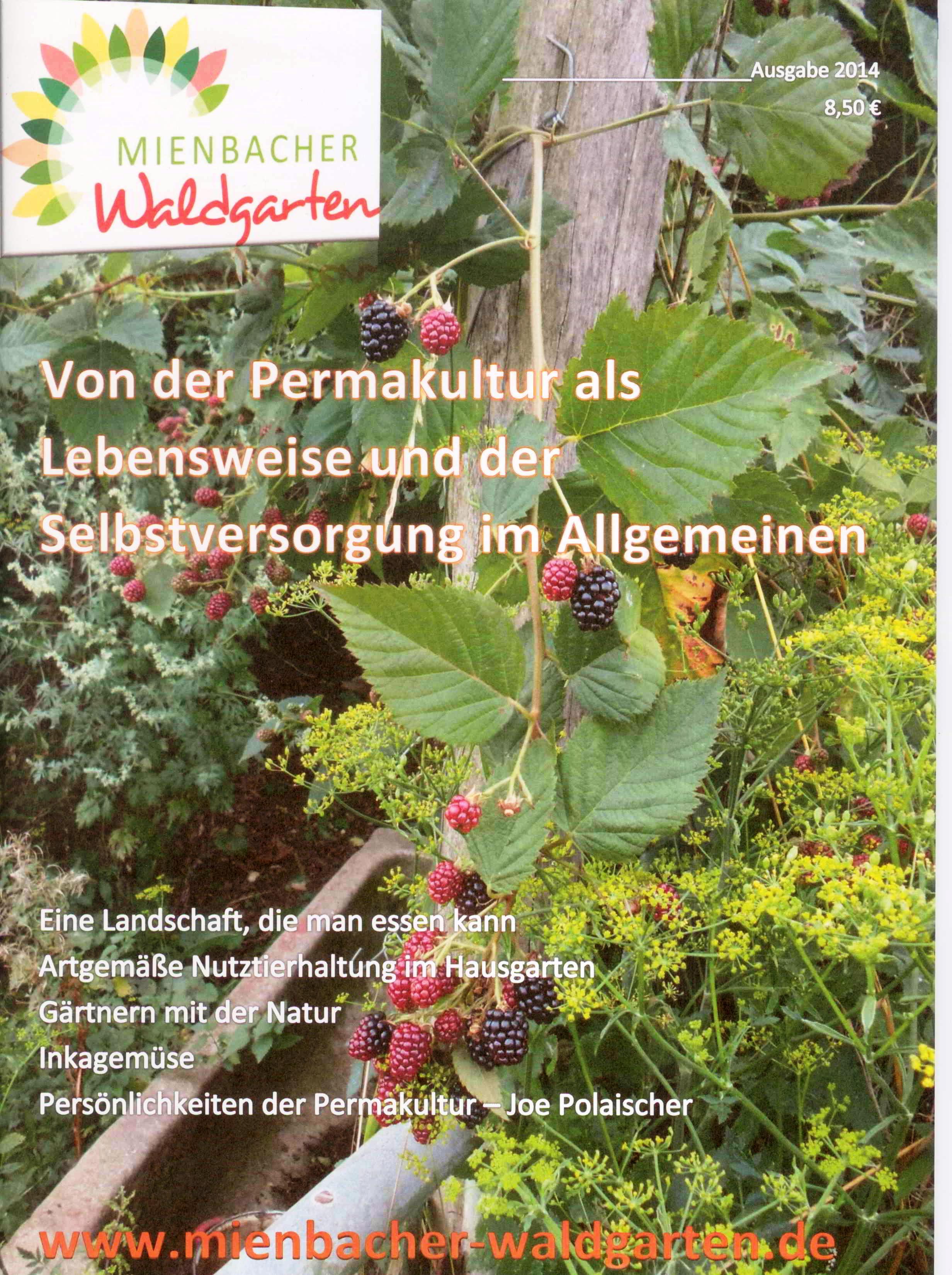 1. Waldgarten-Publikation