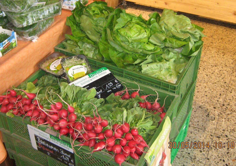Salat und Radieserl