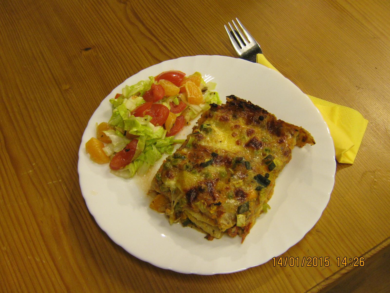 Gemüselasagne2